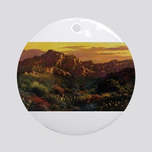 Arizona Desert Ornament (Round)