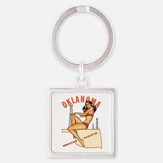 Oklahoma Pinup Keychains