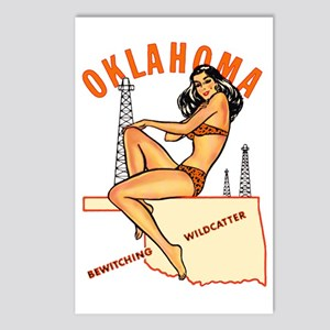 Oklahoma Pinup Postcards (Package of 8)
