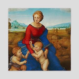 Raphael: Madonna in the Meadow Queen Duvet