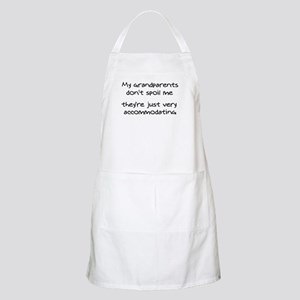 Accommodating Grandparents Apron