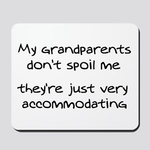 Accommodating Grandparents Mousepad