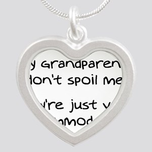 Accommodating Grandparents Silver Heart Necklace