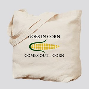 Goes in corn Tote Bag