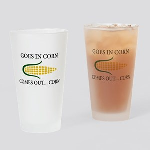 Goes in corn Drinking Glass