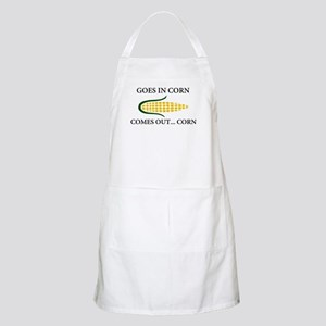 Goes in corn Apron