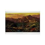Arizona Desert-r Rectangle Magnet (100 pack)
