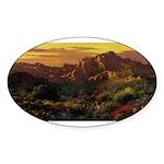 Arizona Desert-r Sticker (Oval 10 pk)