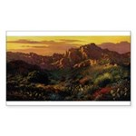 Arizona Desert-r Sticker (Rectangle 50 pk)