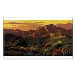 Arizona Desert-r Sticker (Rectangle)