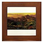 Arizona Desert-r Framed Tile