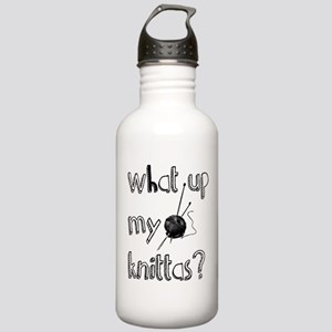 What Up My knittas? Water Bottle