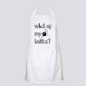 What Up My knittas? Apron
