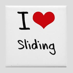 I love Sliding Tile Coaster