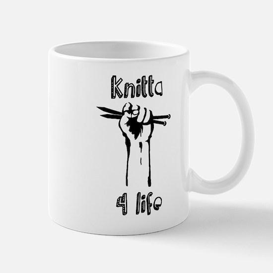 Knitta 4 Life Mug