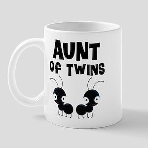 Aunt of Twins Mug