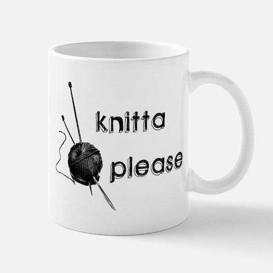 Knitta Please Mug