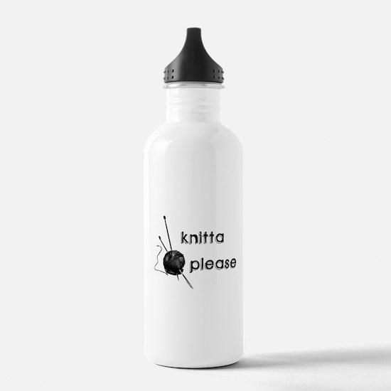 Knitta Please Water Bottle