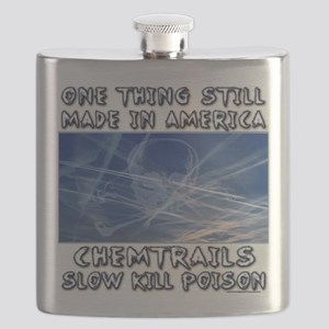 Chemtrails - Still Made in America Flask