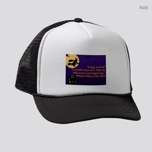 halloween 2 kids trucker hat