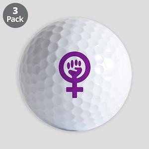 Femifist Golf Balls