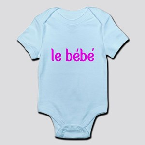 le bebe-french-the baby Body Suit