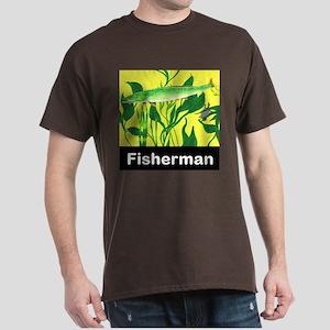 Fisherman mens Dark T-Shirt