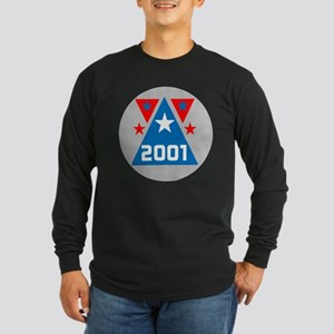 2001 Triangle Millennium Long Sleeve Dark T-Shirt