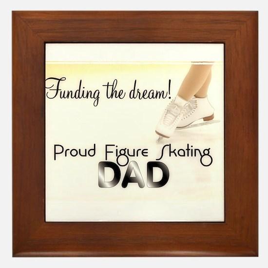 Proud Dad! Framed Tile