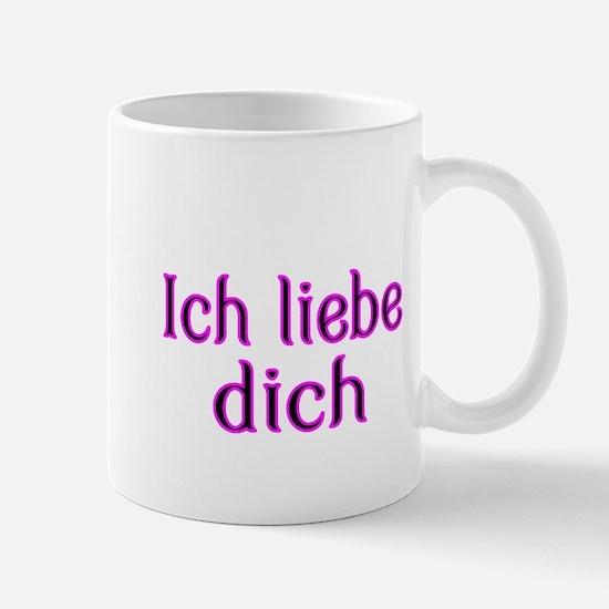 Ich liebe dich-I love you Mug