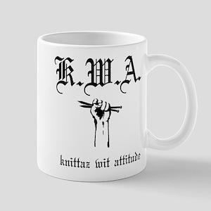K.W.A knittaz wit attitude Mug