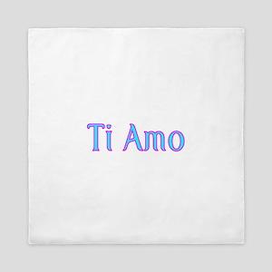 Ti Amo- I love you Queen Duvet