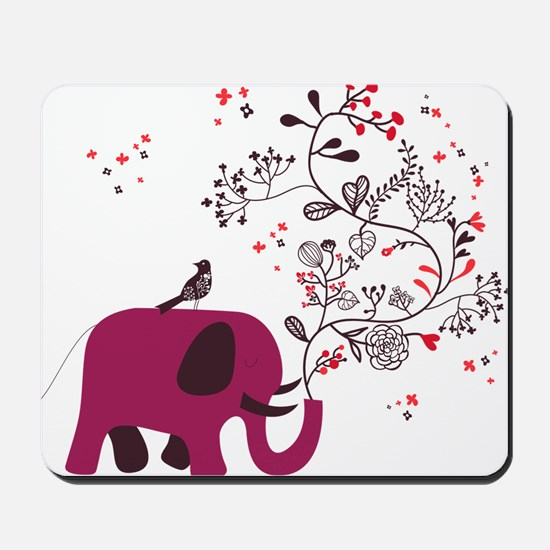 Love Elephant Mousepad