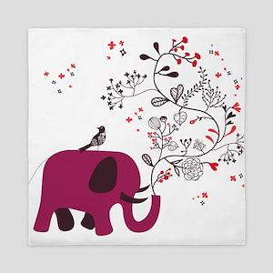 Love Elephant Queen Duvet