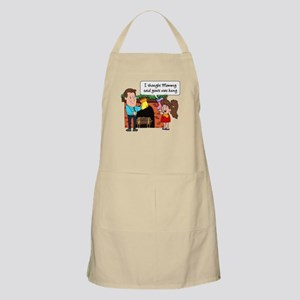Yours Was Hung BBQ Apron