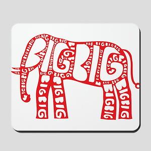 Big Elephant Mousepad