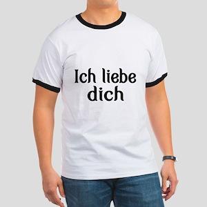 Ich liebe dich-I love you T-Shirt