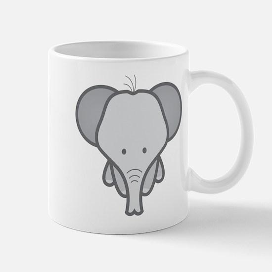 Gray Baby Elephant Mug