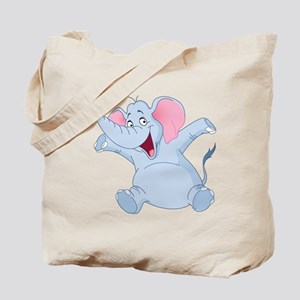 Happy Elephant Tote Bag