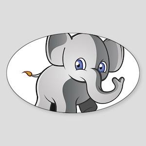 Baby Elephant 2 Sticker