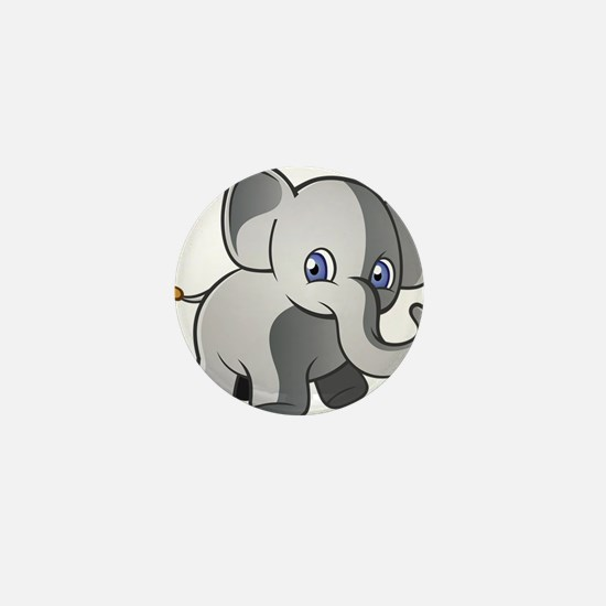 Baby Elephant 2 Mini Button (100 pack)