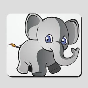 Baby Elephant 2 Mousepad