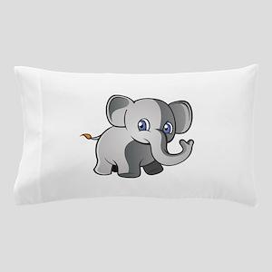 Baby Elephant 2 Pillow Case