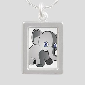 Baby Elephant 2 Necklaces