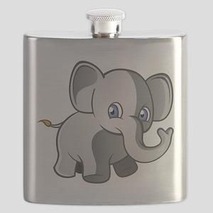 Baby Elephant 2 Flask