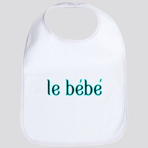 le bebe-the baby-French Bib