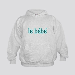 le bebe-the baby-French Hoodie