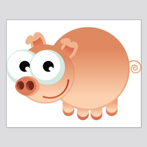 Happy Pig Posters