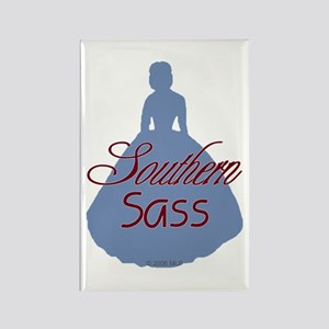 Southern Sass Rectangle Magnet