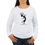 Kokopelli Inline Skater Women's Long Sleeve T-Shir